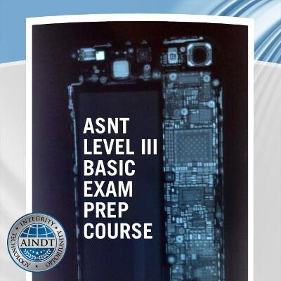 ASNT Level III Basic Exam